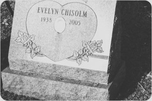 She was buried next to her sister.