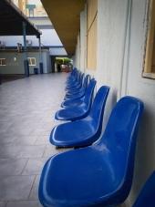 Blue Chairs at ACA
