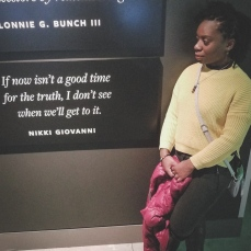 I liked this quote at the African American Museum